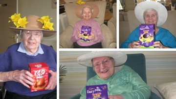 Eggs-travaganza at Stirling care home