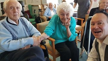 Resident's wish granted at Redcar care home