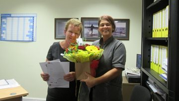 Wakefield care home worker celebrates twenty years' service