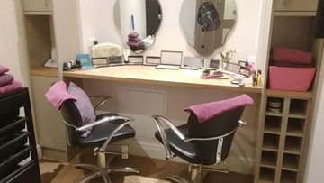 Kind donations bring pamper salon to life at Newton Heath care home