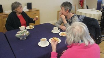 Highfield hosts coffee morning for Residents