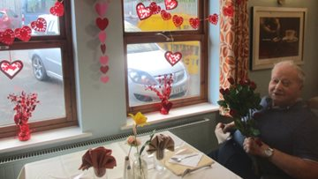 Love is in the air as Alexander Court celebrates Valentine's Day
