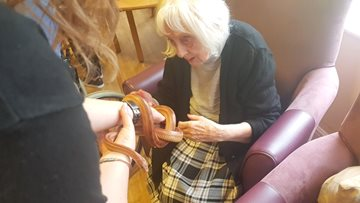 Beeches Care Home welcomes Zoolab
