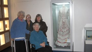 Spennymoor care home Residents visit fishing museum