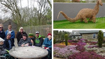 Harrogate care home Residents visit Harlow Carr Gardens