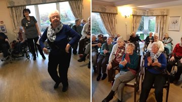Greenock care home host St Andrew's Day celebrations