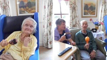 Music for health at Coppice Court
