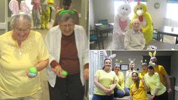 Grampian Court enjoy an action packed Easter
