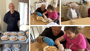 Italian inspirations at Calverton care home's cooking class