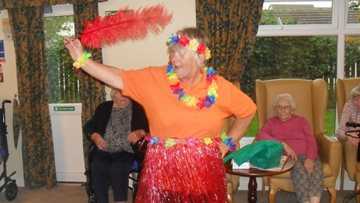 Ukulele band entertains Residents at Penrith care home