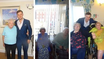 Michael Bublé tribute sings to Birmingham care home