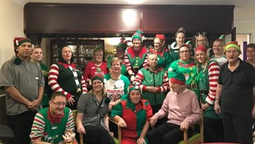 Dartford care home celebrates 'Elf Day'