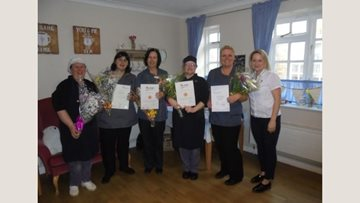 Whittlesey care home celebrates success