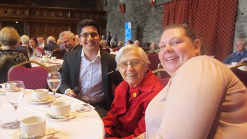 Caerphilly Care Homes Residents attend Caerphilly 50 Plus Forum AGM
