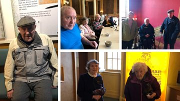 Falkirk care home Residents enjoy local history trip