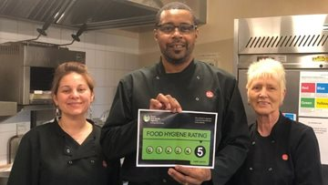 Shelton Lock care home receives top marks for food hygiene