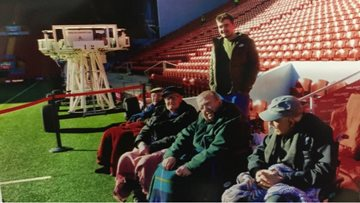 Beechcroft Residents get Tour of Anfield