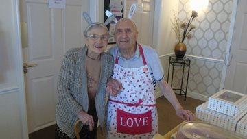 Bake sales raises money for Residents at Dovedale Court