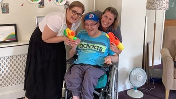 Residents enjoy fun-filled summer afternoon at Springwater Lodge