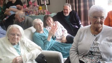 Easter eggs-travaganza at Peterlee care home