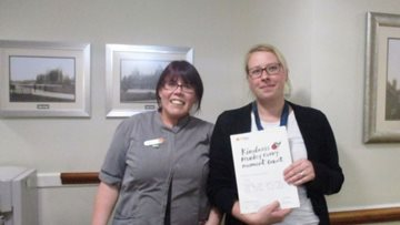 Coalville care home rewards Colleague for kindness