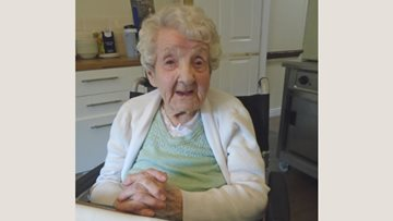 Residents enjoy pamper session at Stockport care home