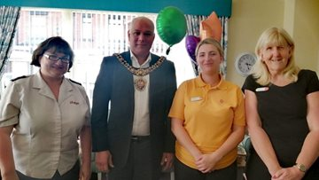 Autumnal celebrations at Newton Heath care home