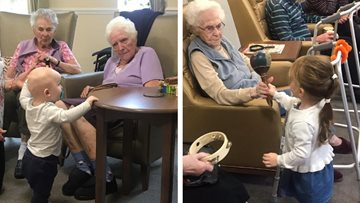 Young meets old Lincoln care home