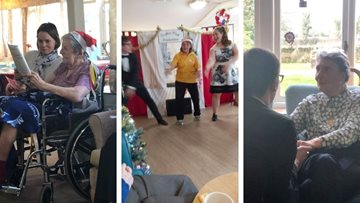 Christmas extravaganza at Moreton-in-Marsh care home