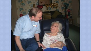 Hatton Lea celebrates Valentine's Day with the Residents