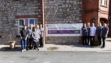 Kendal Home Enjoys Success in CQC Report