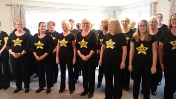 Rock Choir thrills Residents at Swallownest