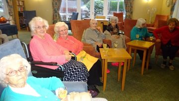 Festive film afternoon at Consett care home