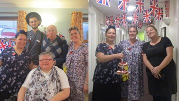 Residents travel back in time for Remembrance Day at Alexander Court