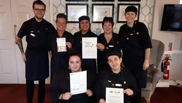 Wednesbury care home team receives award for kindness