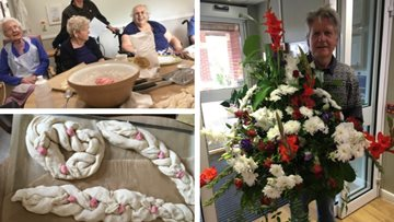 Harvest preparations at Irthlingborough care home
