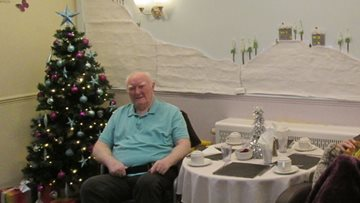 Residents deck the halls at Roundhay care home