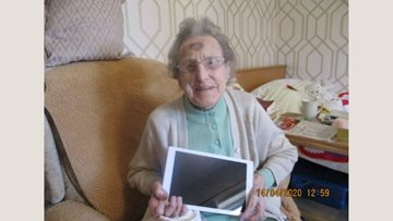 Whittlesey care home Residents enjoy keeping in touch with loved ones