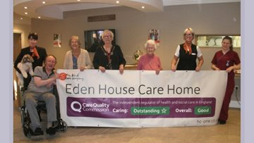 Bishop Auckland Care Home Praised for Outstanding Care
