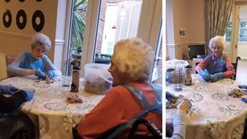 Residents demonstrate commitment to wildlife at Shelton Lock care home