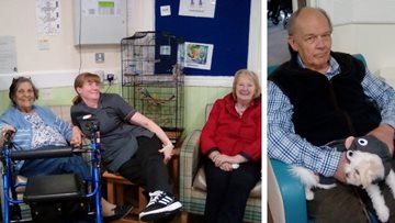 Adorable additions to Caol care home