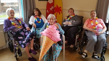 Summer fun at Bolton Care Home