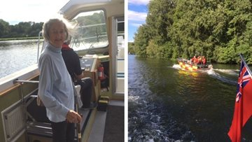 Henley care home Residents enjoy trip on the Thames