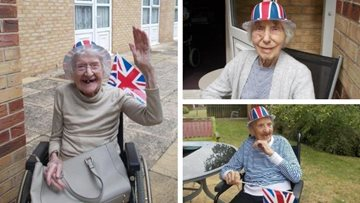 Transporting back in time to post-war Britain at Braintree care home