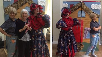 Fee-fi-fo-FUN at Liverpool care home
