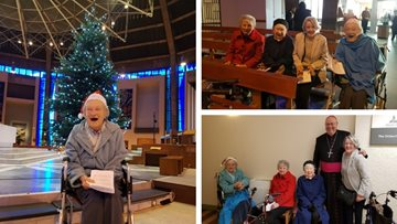 Residents visit Liverpool Metropolitan Cathedral