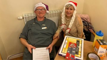 Residents get quizzical at Coventry care home