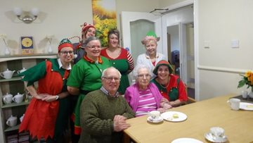 Goole care home supports Alzheimer's Society with festive fundraiser