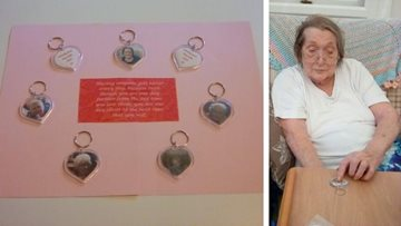 Residents at Duffield care home send token to loved ones