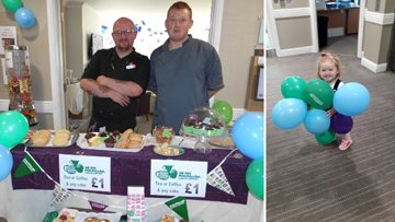 Hartlepool care home host coffee morning for Macmillan